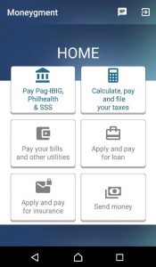 interface-home-moneygment-app
