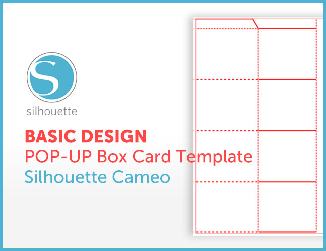 Free pop up box card template for silhouette cameo little papers free maxwellsz