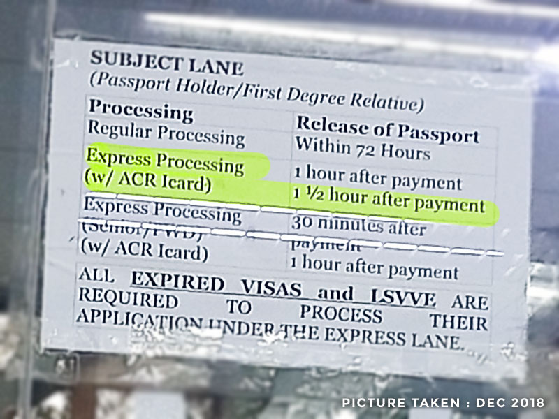 Philippine Visa Extension