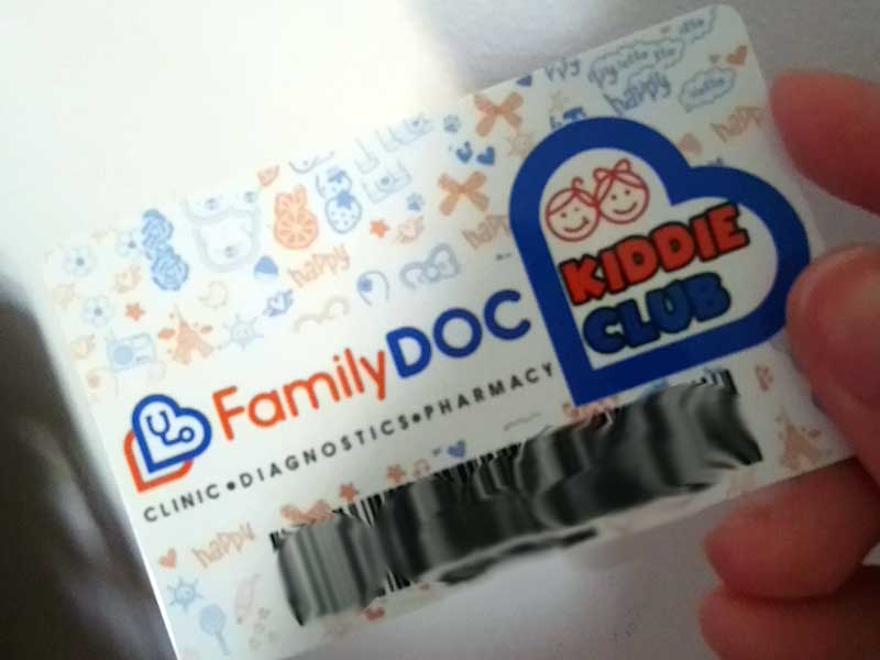 Family Doc Membership Card